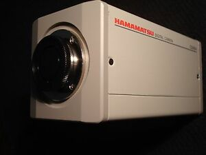 Hamamatsu Digital Camera Model C8484 05g Serial 850012