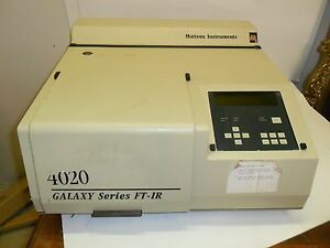 Mattson Galaxy Gl 4020 Ft ir Spectrometer
