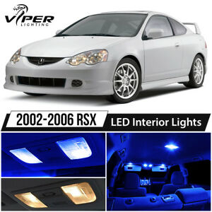 2002 2006 Acura Rsx Blue Led Interior Lights Package Kit
