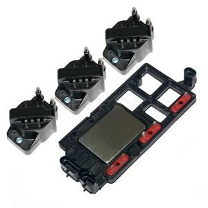 Ignition Coil Set Of 3 Control Module Kit For Chevy Pontiac Buick Olds Isuzu