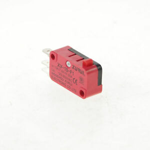 1 X Xv 15 f1 Miniature Micro Switch Pin Plunger Type 15a Ip 40 Side Terminal