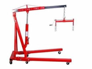A 2 Ton Folding Cherry Picker Hd 1 Ton Engine Hoist Crane Free Shipping