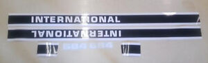 International 684 Decals
