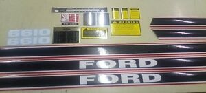 Ford 6610 Decals