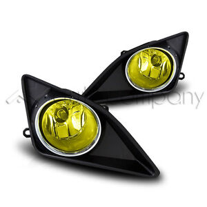 09 10 Corolla Fog Light Diving Lamps W Wiring Kit Yellow