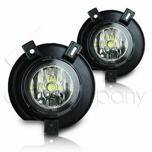 2002 2005 Ford Explorer Fog Lamps W high Power Cob Led Projector Bulbs