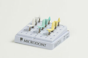 Microdont Usa Complete Composite Polishing Kit 4 Shapes 3 Grit Sizes 12pcs