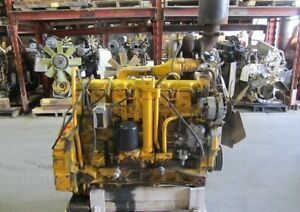 John Deere 6404t Turbocharged Engine tested Running Complete