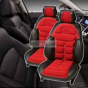 Bowtie Emblem Logo Bucket Seat Cushion Cover 2seat For Chevrolet 2013 2017 Trax