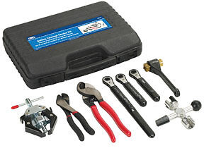 Otc 8pc Battery Terminal Maintenance Cleaner Kit Ratchet Wrenches