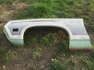 1971 1970 Ford Ranchero Squire Drivers Front Fender With Trim