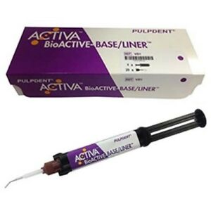 Pulpdent Activa Bioactive Base Liner 5 Ml Syringe Single Pack
