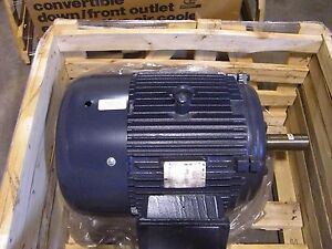 New Marathon 60hp 1800 Rpm 208 230 460 V 364t Tefc E985b Electric Motor