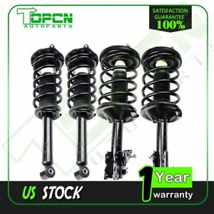 For 2002 03 Nissan Maxima All 4 Complete Struts Coil Springs Quickly Install