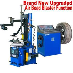 1 5 Hp Automatic Tire Changer Wheel Balancer Machine Combo 960 680