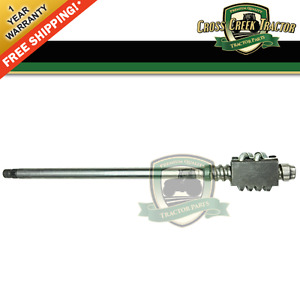 8n3575b New Ford Tractor Worm Shaft Manual Steering 8n Late 1 1950 12 1952