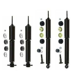 Monroe 5960 5961 Front And Rear Shock Absorber Set 4
