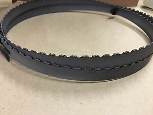 93 7 9 X 3 4 X 032 Gulleted Carbide Grit Band Saw Blade Disston Usa