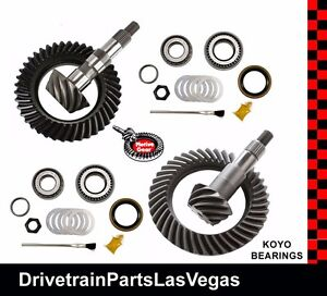 Motive Gm 8 5 8 6 8 25 4 11 Ratio Ring Pinion Gear Set Pkg W Kits 99 08 Re gear