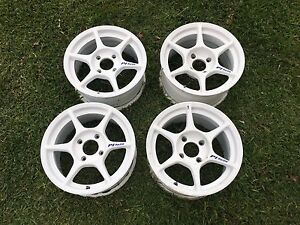 Buddy Club P1 Wheels 4x114 3 15x8 Off 22 15x7 Off 45 Kosei K1 Light