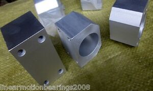 6 Cnc Ball Nut Housing Bracket Mount Rm1605 Rm1610 Rm1604 Ball Screw Flange Nut