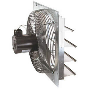 Dayton Exhaust Fan 16 In 115v 1 20hp 1550rpm 1hla3