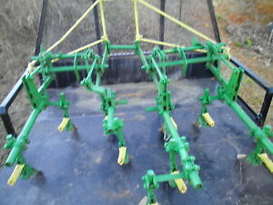 Rare Vintage John Deere 2 Row Cultivator Front Mount