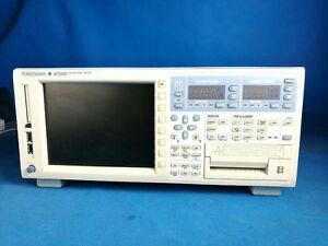 Yokogawa Wt3000 760303 Opt 03 sv h b5 g6 dt c7 c5 Precision Power Analyzer