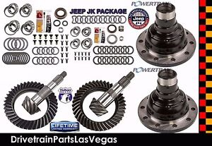 Dana 30 44 Jeep Jk Master Install Gear Set Package 4 56 Ratio Grip Pro Posi S