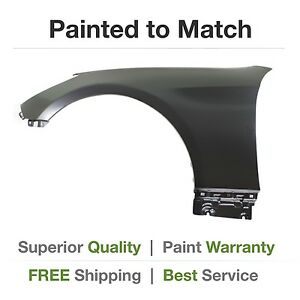 New Fits 2010 2011 2012 Hyundai Genesis Coupe Left Fender Cover Painted