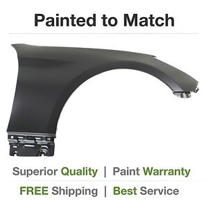 New Fits 2013 2014 2015 Hyundai Genesis Coupe Right Fender Cover Painted
