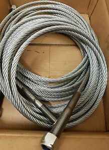 Silent Technology St4b Cables 2 Post Ramp Lift Spares Parts Direct Manufacturer