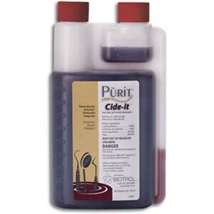 Biotrol Purit Cide it Presoak And Ultrasonic Cleaner Solution 16 Oz 16 Gal