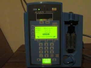 Alaris 7230 Infusion Pump Signature Edition Gold