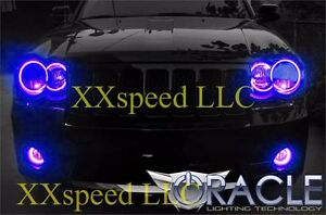 Oracle Halo Headlights Non Hid Style For Jeep Grand Cherokee 08 10 Blue Led