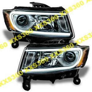 Oracle Halo Headlights Non Hid For Jeep Grand Cherokee 14 15 White Led Angel Eye