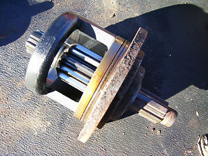 Vintage Ford 1600 Diesel Tractor differential Lh Bull Gear Brake Driver