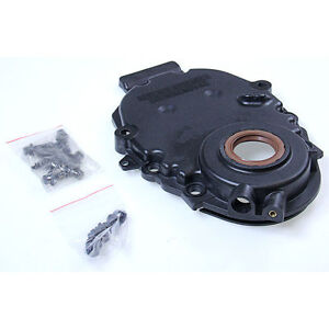 Chevy Gmc 5 0 305 5 7 350 Vortec Timing Cover With Crank Sensor Hole 1996 2002