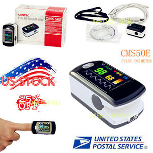 Daily Night Sleep Analysis Spo2 Pulse Oximeter Oled usb software Cms50e Contec