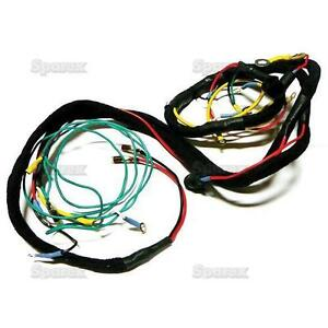 Ford Tractor Main Wiring Harness Series 600 700 800 900 1955 1957 Fdn14401b