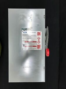 Cutler hammer Disconnect Type 1 Dh323ngk 100 Amp Safety Switch 240v fused