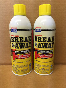 Qty 2 Professional Cyclo Break Away Penetrating Oil C10 13oz Free Priority Ship