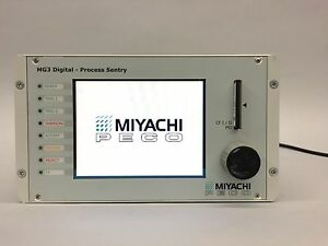 Miyachi Peco Mg3 Digital Process Sentry Mg3 w1 Weld Monitor