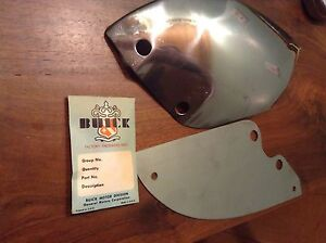 Nos 1946 1947 1948 Buick Rear Rocker Panel And Trim Plate Extension Left