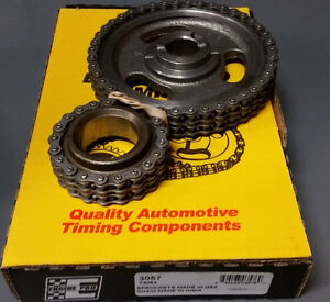 Timing Chain Set Hd Double Roller Small Block Ford Sbf 302 351w 1984 2001