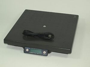 Fairbanks Shipping Scale Ultegra Ii 14x14 Flat Top 150 X 05 Lb Capacity Usb B