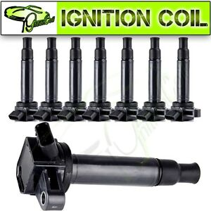 Set Of 8 Brand New Ignition Coils For Lexus Gs430 Gx470 Toyota 4runner Uf230