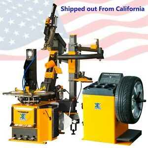 New1 5 Hp Tire Changer Wheel Changers Machine Combo Balancer Rim Clamp112a 96