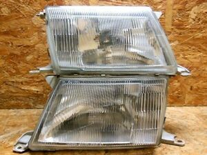 94 1997 Jdm Toyota Lexus Ls Celsior Ucf20 Ucf21 Zenki Headlight Set Factory Oem