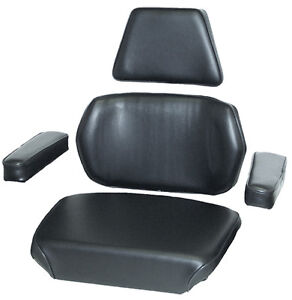 Amc1170blv Seat Kit Black Vinyl For Case 770 870 1070 1090 1170 1175 Tractors